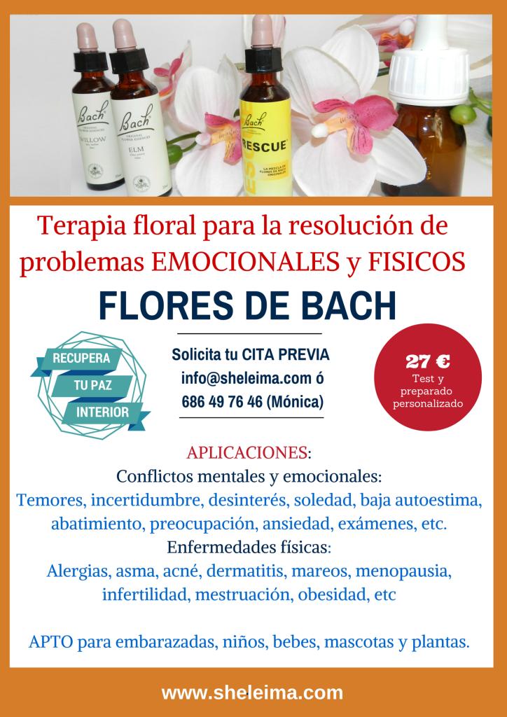 Cartel de Flores de Bach