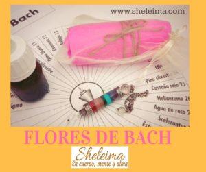 Flores de Bach con péndulo